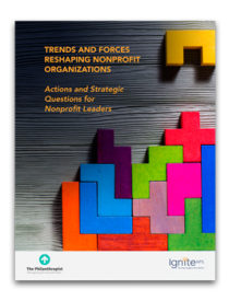Trends and Forces Reshaping Nonprofit Organizations